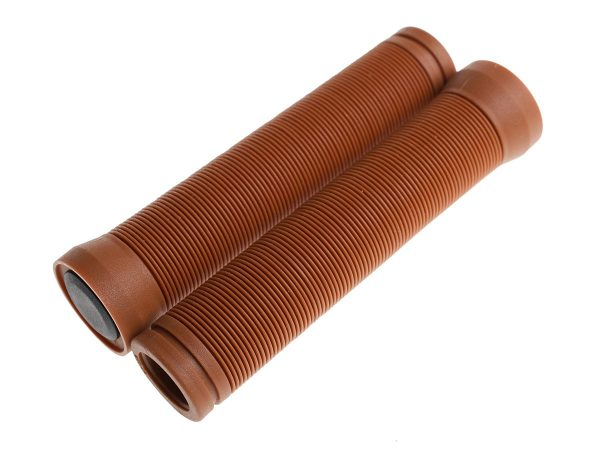 BLB Button Grips Brown-0
