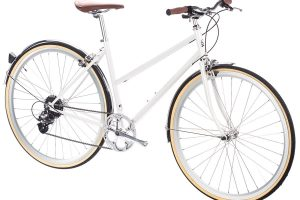 6KU Odessa City Bike 8 Speed Coney White-507