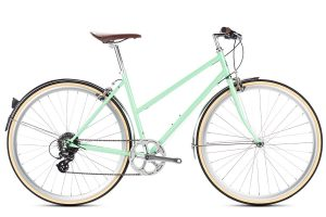 6KU Odessa City Bike 8 Speed Elysian Green