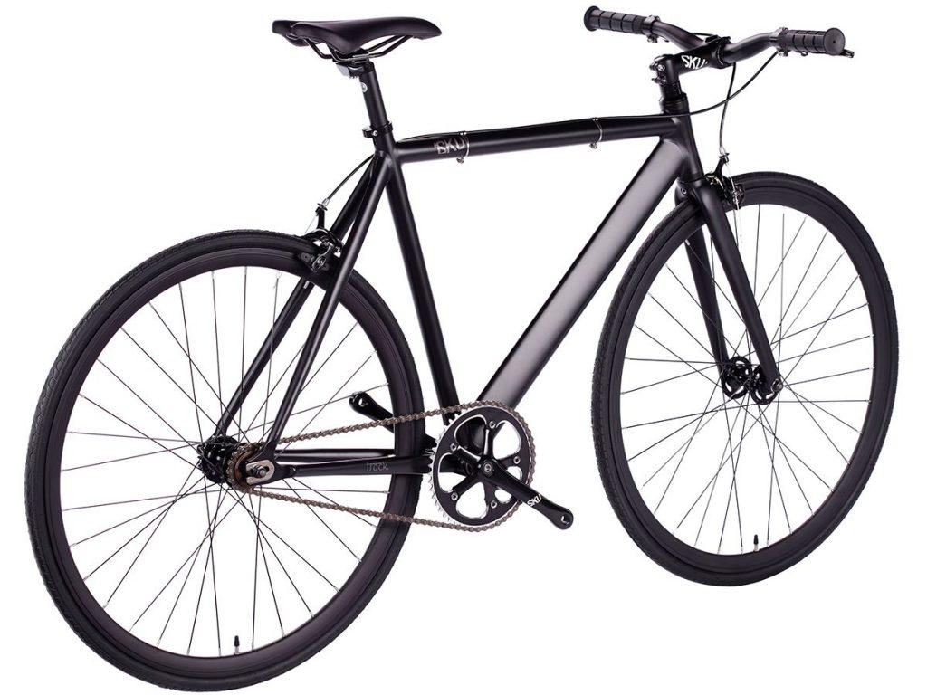 6KU Fixie Fahrrad Track Schwarz-626