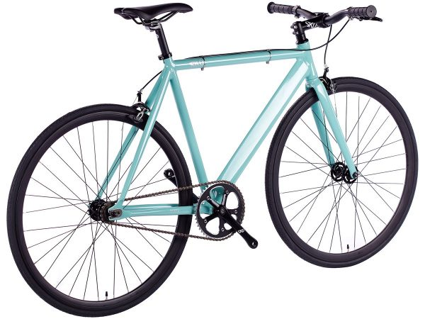 6KU Fixed Gear Track Bike Celeste-630