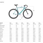 6KU Fixed Gear Track Bike Celeste-632