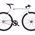 6KU Fixed Gear Track Bike White