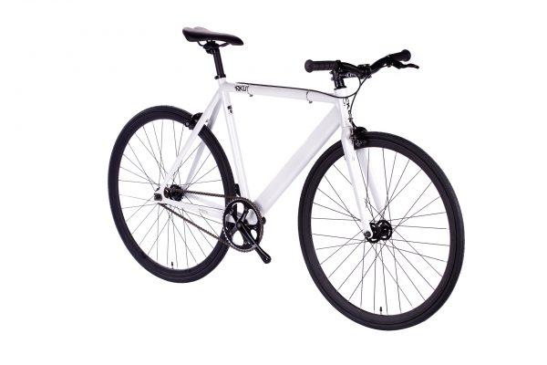 6KU Fixed Gear Track Bike White-641