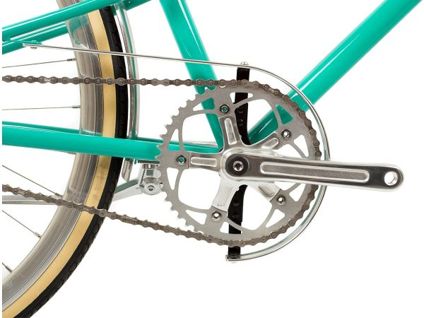 BLB Cleo Single Speed Ladies Bike Emerald-529