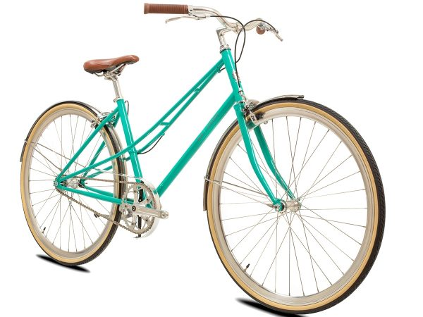 BLB Cleo Single Speed Ladies Bike Emerald-530
