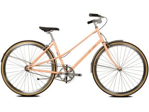 BLB Cleo Single Speed Ladies Bike Peach