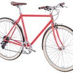 6KU Odyssey City Bike 8 Speed Lincoln Red-441