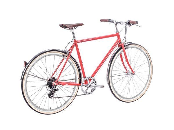 6KU Odyssey City Bike 8 Speed Lincoln Red-442