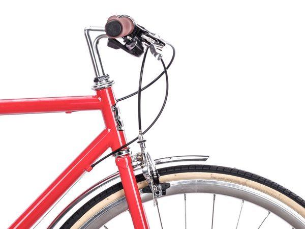 6KU Odyssey City Bike 8 Speed Lincoln Red-443