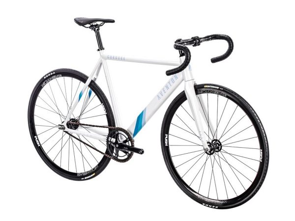 Aventon Cordoba Limited Edition Fixie Fiets Wit-2477