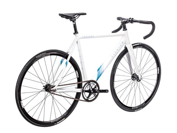 Aventon Cordoba Limited Edition Fixie Fiets Wit-2478