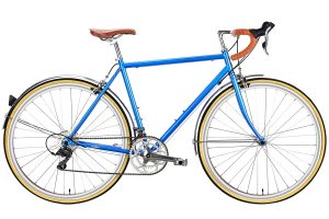 6KU Troy Stadsfiets 16 Speed Windsor Blauw