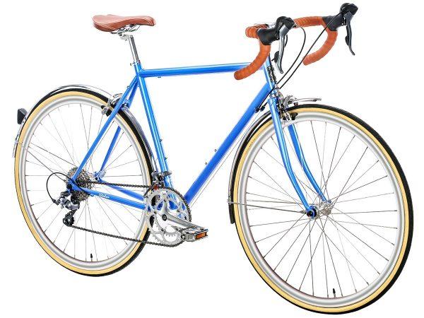 6KU Troy City Bike 16 Speed Windsor Blue-454