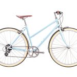 6KU Odessa City Bike 8 Speed Maryland Blue