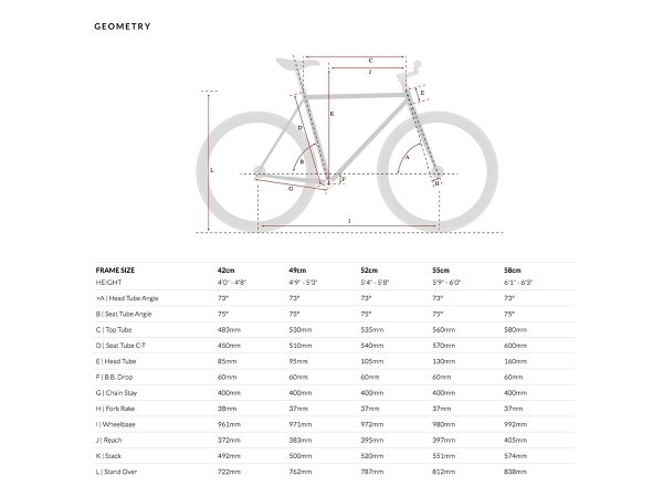 6KU Fixed Gear Bike – Nebula 1-608