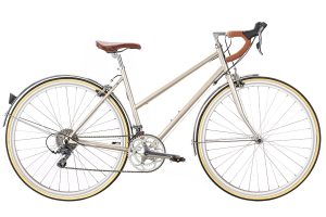 6KU Helen City Bike 16 Speed Champagne
