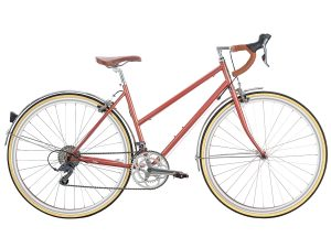 6KU Helen City Bike 16 Speed Rose Gold
