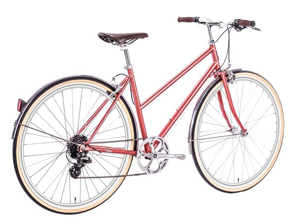 6KU Odessa City Bike 8 Speed Madison Gold-517