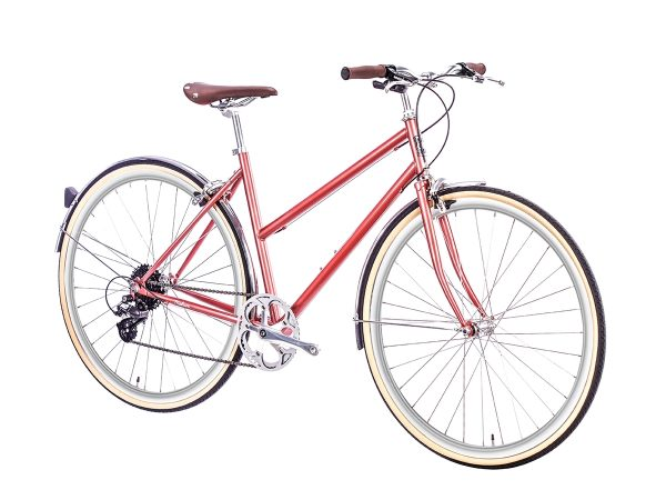 6KU Odessa City Bike 8 Speed Madison Gold-518