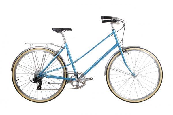 BLB Lola 8 Speed Ladies Bike Blue