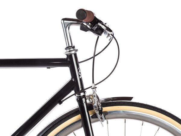 6KU Odyssey City Bike 8 Speed Delano Black-439