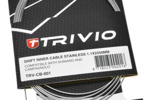 Trivio Binnenkabel Shifter Roestvrij -0