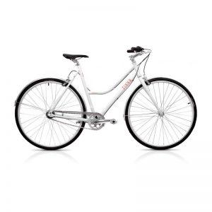 Finna Cycles Breeze Stadsfiets 3 Speed Parel Wit