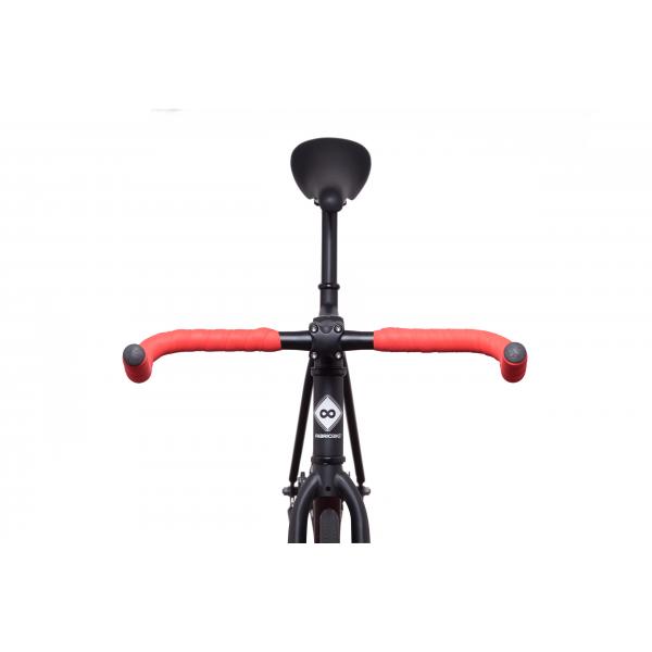 FabricBike Fixed Gear Bike - Matt Black / Pink-2866