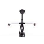 FabricBike Fixed Gear Bike – Matt Black / Pink-2867