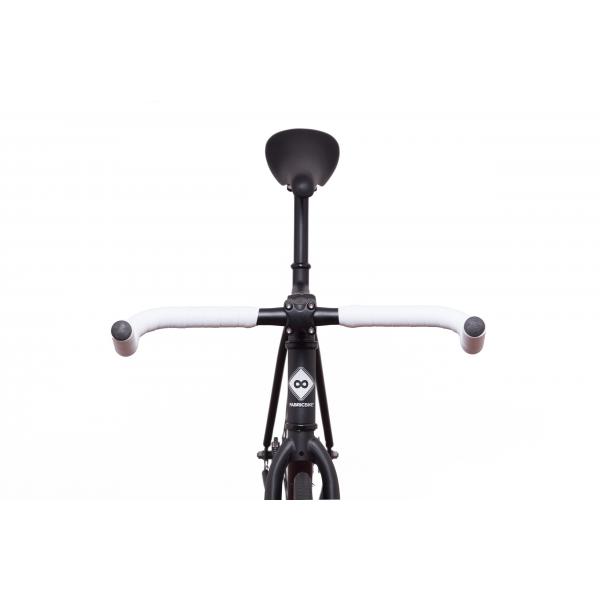 FabricBike Fixed Gear Bike - Matt Black / Pink-2867