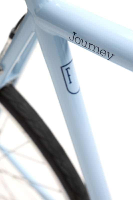 Finna Cycles Journey City Bike 3 Speed Sky Blue-3040