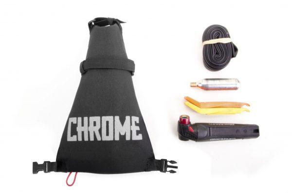 Chrome Industries Knurled Welder Race Bike Seat Bag-4838