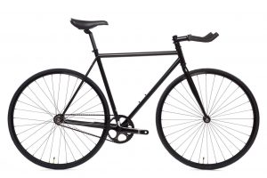 State Bicycle Fixie Fiets 4130 Core Line Matte Black 6-0