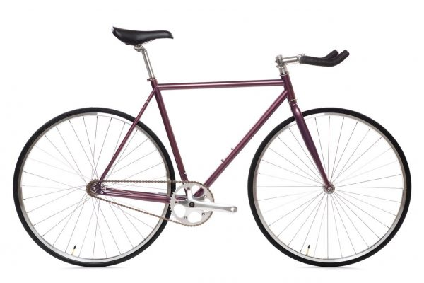 State Bicycle Fixie Fiets 4130 Core Line Nightshade Purple-0