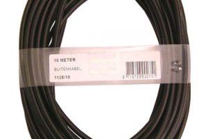 XLC Buitenkabel 10M 5mm ZW1125-0
