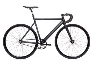 State Bicycle Co. Fixed Gear Bike Black Label V2 - Matte Black-0