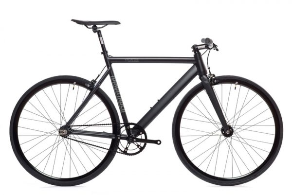 State Bicycle Co. Fixed Gear Bike Black Label V2 - Matte Black-5964