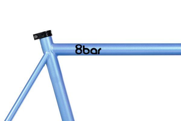 8bar Fhain Steel V1 Frameset-55.5 CM-blue-3383