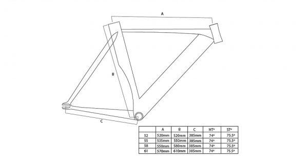 Unknown Bikes Fixed Gear Bike Singularity – White-3320