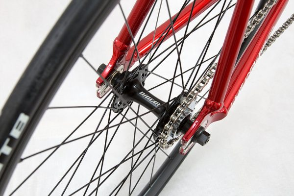 Unknown Fixed Gear Bike Paradigm Red-2019