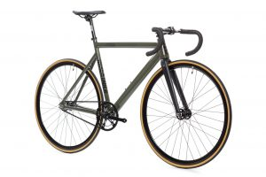 State Bicycle Co Fixed Gear Black Label v2 - Army Green-5933