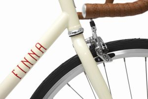 Finna Fixed Gear Bike Velodrome Vanilla Cream-3091