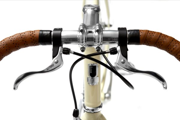Finna Fixed Gear Bike Velodrome Vanilla Cream-3092