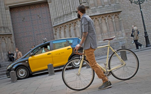 Finna Fixed Gear Bike Velodrome Vanilla Cream-3096