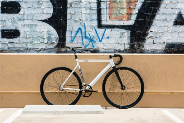 State Bicycle Co Fixed Gear Bike Black Label v2 - Raw Aluminum-6558