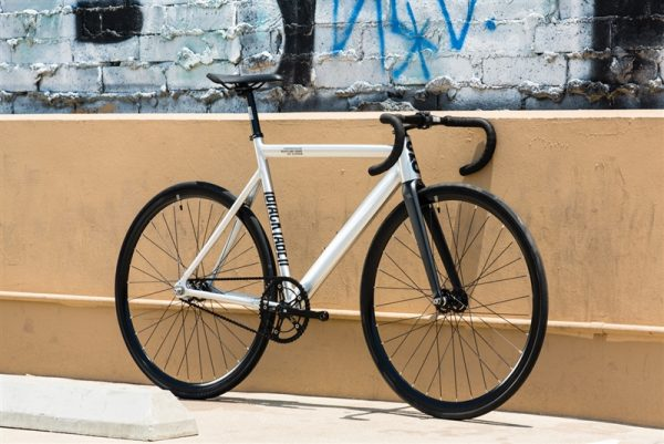 State Bicycle Co Fixed Gear Bike Black Label v2 - Raw Aluminum-6559