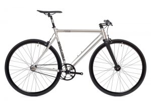 State Bicycle Co Fixed Gear Bike Black Label v2 - Raw Aluminum-6550