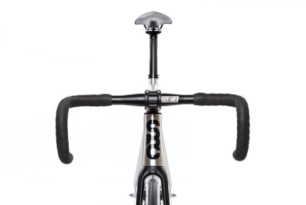 State Bicycle Co Fixed Gear Bike Black Label v2 - Raw Aluminum-6555