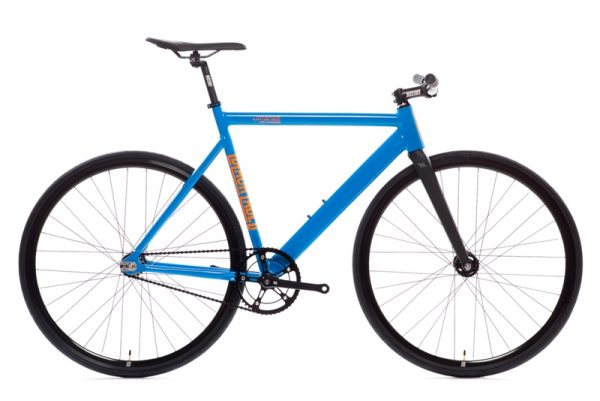 State Bicycle Co Black Label v2 Fixed Gear Bike - Typhoon Blue-6572